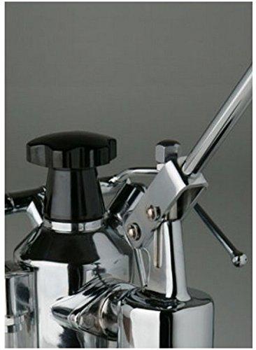 Handhebel-Espresso Siebträgermaschine La Pavoni Europiccola schwarz