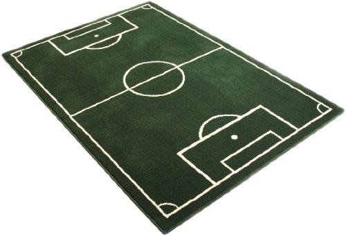 Hanse Home 100827 Fußballteppich, 80 x 150 cm, grün