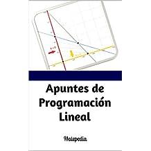 Apuntes de Programación Lineal: Matepedia