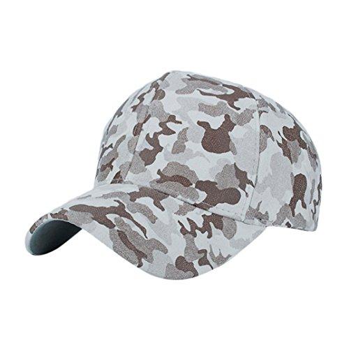 Béisbol Hombre Plano Camuflaje Sombrero Hop Gorra de Beige Snapback QinMM Hip Mujer 6TZxHwHq