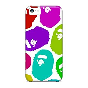 High Quality Bape Case For Iphone 5c / Perfect Case
