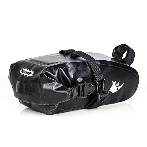 Waterproof Bicycle Saddle Bag Bike bag under seat bag Rainproof Mountain Road Bike Seat Bag Bicycle Bag Professional Cycling Accessories by Rhinowalk (Image #1)
