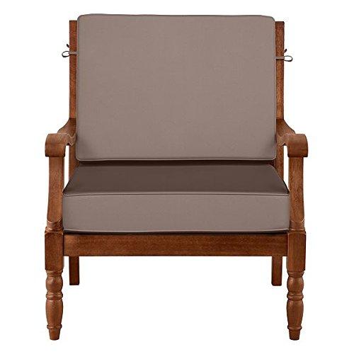 Outdoor Patio Deep Seat Relaxed Chair Cushion Set   Box Edge   19u0027u0027 X