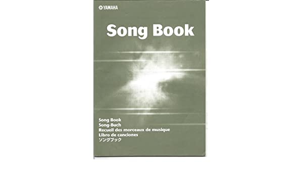 Yamaha song book piano various amazon books fandeluxe Image collections