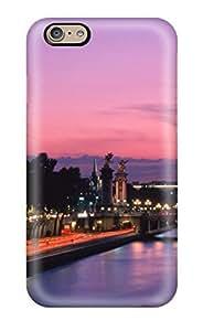 For Iphone 6 Premium Tpu Case Cover City Of Paris Protective Case