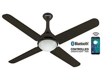 Havells Futuro Bluetooth Enabled Ceiling Fan  Mm Sweep Black Nickel