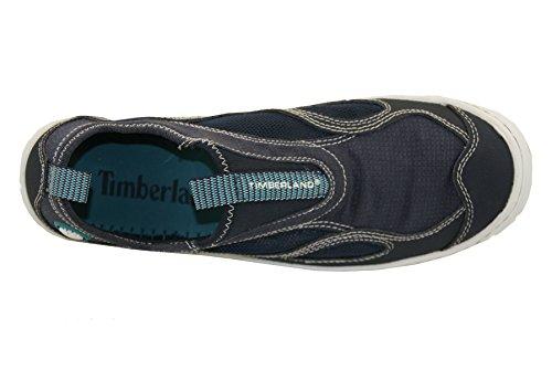 Timberland Wake Ftp Slip On, Zapatillas de Vela para Mujer Azul