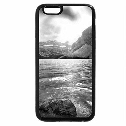 iPhone 6S Plus Case, iPhone 6 Plus Case (Black & White) - Opal Lake