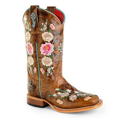 Macie Bean Youth Rose Garden Boots