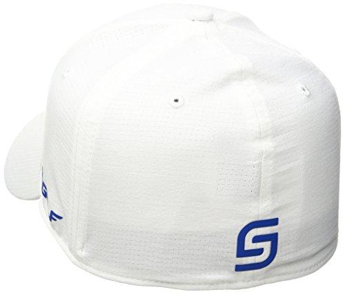 para Gorra White UA Tour Visera JS Blanco UA Curvada Hombre Armour con Diseño Under CqwA4xXx