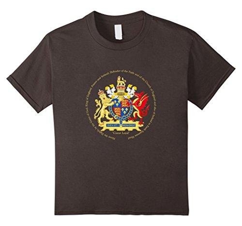 Kids Royal Coat of Arms: King Henry VIII 10 Asphalt