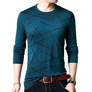 EYEBOGLER Men's T-Shirt (L-EBT317-TMBL_Teal_Large)