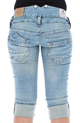 Herrlicher Para Azul Cortos Pantalones Short Mujer Pitch qnrgOq71v