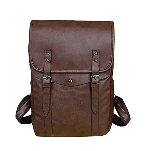 Backpack Large Student Women Capacity Travel Coffee JERFER Bag Computer Shoulder qBx64FHw8
