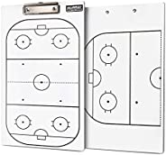 Murray Sporting Goods Dry Erase Double-Sided Hockey Coaches Clipboard