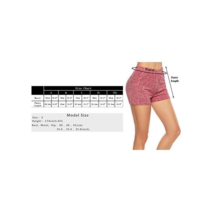 41h5wz8TKhL ✔ 2 piezas Pantalones cortos: cinturilla elástica, súper suave y elástica, te mantiene fresco y cómodo. ✔ Tela: tela de secado rápido para comodidad durante todo el día y se siente muy bien en la piel 93% Poliéster, 7% Elastano
