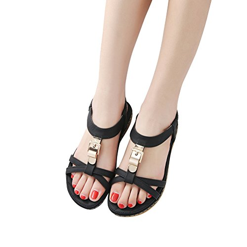 Flip Shoes Women Sandals T Flop Black11 Shoes Flat Shoes Bohemian Strap Thong Prime Summer SANMIO ApnWfvPP