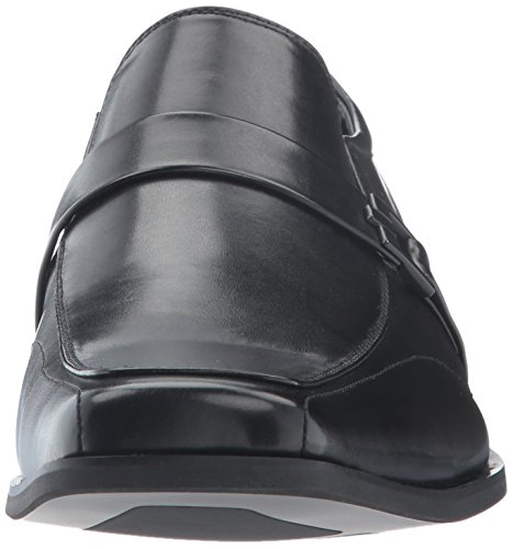 Unlisted By Kenneth Cole Mens Design 30143 Mocassino Slip-on Nero