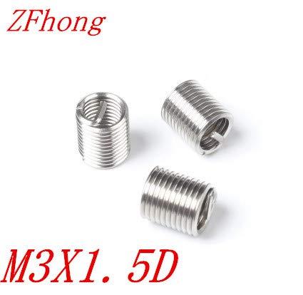Ochoos 50pcs M3 M31D Stainless Steel Wire Thread Insert