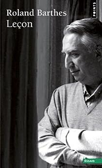 Leçon par Barthes