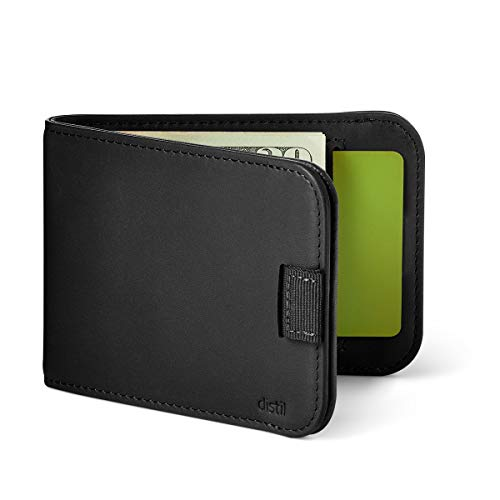 Distil Union Slim Wallets for Men – Minimalist Bifold Wallets with Money Clip