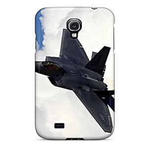 For PiFafSm3302qkjTV Lockheed Martin F 22 Raptor Protective Case Cover Skin/Galaxy S4 Case Cover