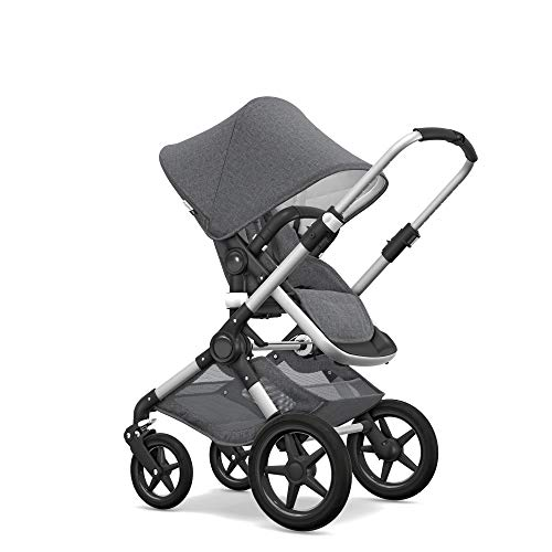 Buy Cheap Bugaboo Fox Classic Complete Stroller, Alu/Grey Mélange - Fully-Loaded Foldable Stroller ...