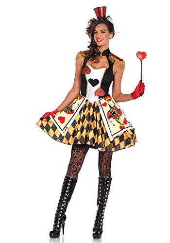 1 PC. Ladies Queen's Card Guard Dress