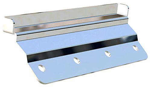 Carr 220082 Stainless Steel Gutter-less Mount Kit (Best Gutter Guards 2019)