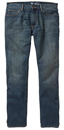GAP Mens Straight Fit Dark Wash Jeans (32x32) - Gap Straight Fit Jeans