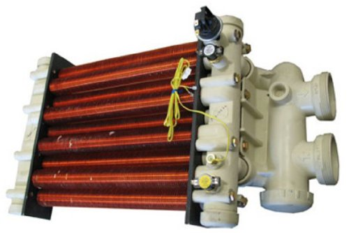 Pentair 472168 Heat Exchanger with Head Replacement MiniMax CH 200 Pool and Spa Heater by Pentair