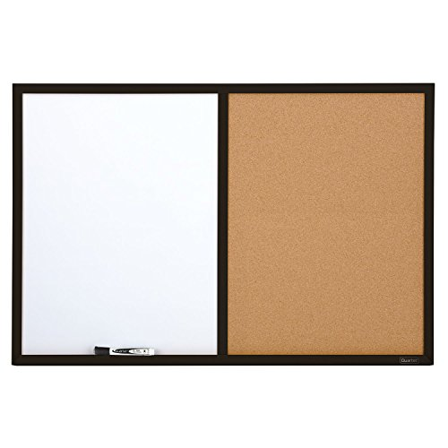 Quartet Dry Erase Board & Cork Board Combination, 2 x 3 Feet