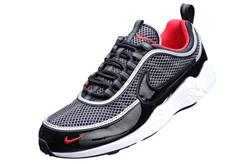 Nike Air Zoom Spiridon 16, Scarpe da Ginnastica Uomo Nero (Black/Black/University Red/White 006)