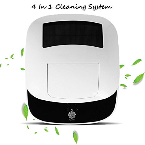 Solar Car Air Purifier with HEPA Filter,Ionize Air Freshener– Essential Oil Diffuser– Odor Eliminator/Remove Bad Odor, Smoke, Dust etc For Your Auto (White)