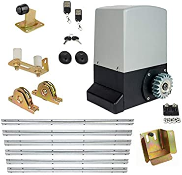 Accionamiento Portón Automatismo Puerta Corredera Set 1500kg Peso Puerta Incl. Schiebetorlaufwerk: Amazon.es: Bricolaje y herramientas