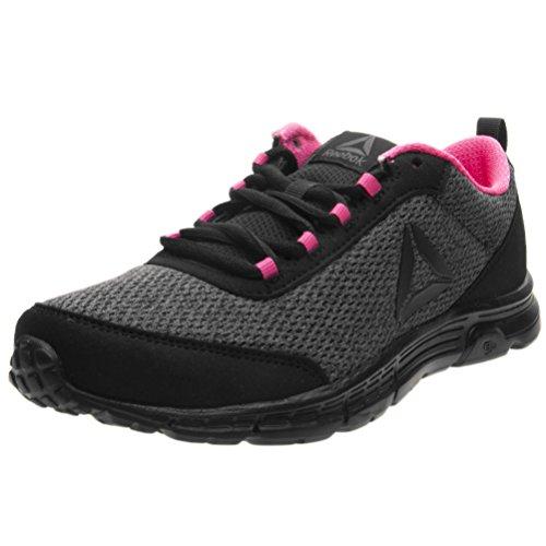 Reebok Speedlux 3.0, Zapatillas de Running Para Mujer Negro (Black/Ash Grey/Acid Pink 000)