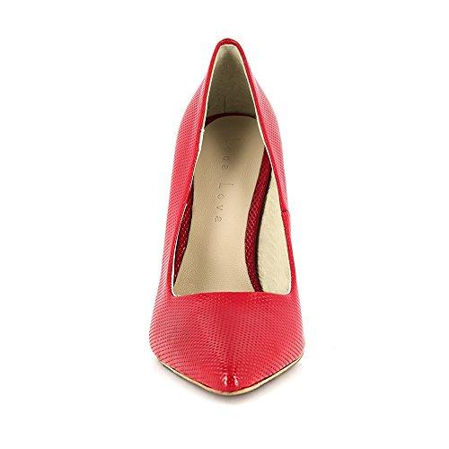 Loca Lova Zapato de Salón Rojo