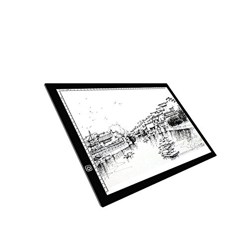 AMZTOLIFE LED A3 Light Box Display Pad Drawing Board Stencil Artist Art Tracing Tatto Table by AMZTOLIFE