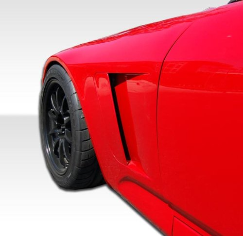 (2000-2009 Honda S2000 Duraflex A-Sport Front Fenders - 6 Piece)