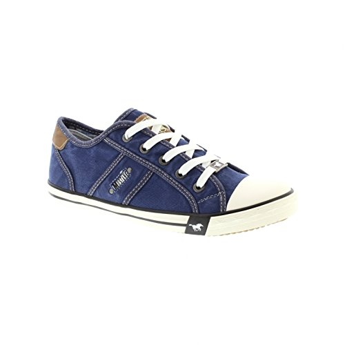 Mustang 1099302 – 841 Jeans Blue (Textile) Womens Trainers 39 EU
