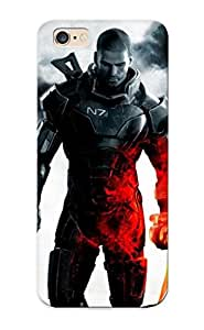New Design Shatterproof Qklifb-1282-yknggfk Case For Iphone 6 Plus (mass Effect ) For Lovers