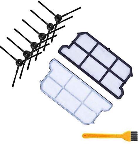 CUHAWUDBA 6X Kit de Filtro de Polvo Hepa Cepillo Lateral 2X para ...