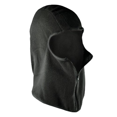 ZANheadgear Black Micro-Fleece Balaclava with - Balaclava Micro