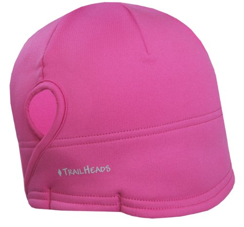 TrailHeads Women's Power Ponytail Hat - berry / cold smoke grey