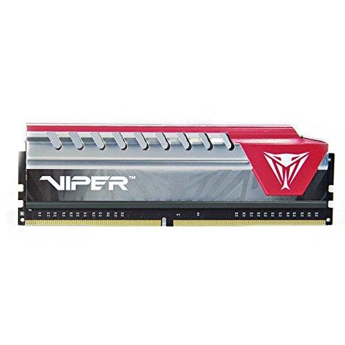Viper Elite Series DDR4 16GB (2 x 8GB) 2400MHz Kit (Red) PVE416G240C5KRD by Patriot (Image #1)