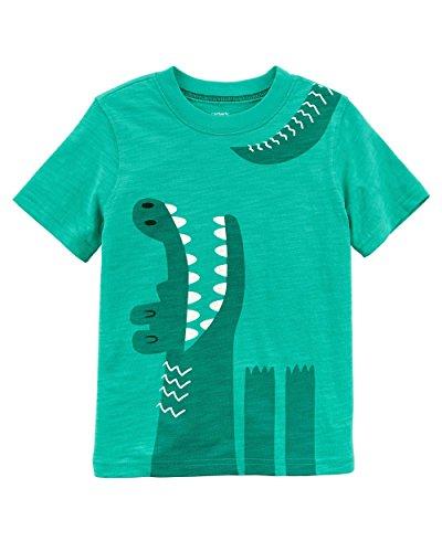 Carter's Boys' 3M-5T Short Sleeve Gator Tee 2T (Boys Gator Shirt)
