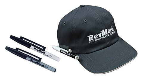 RevMark Hat with Custom Marker Holder - Includes 3 Markers
