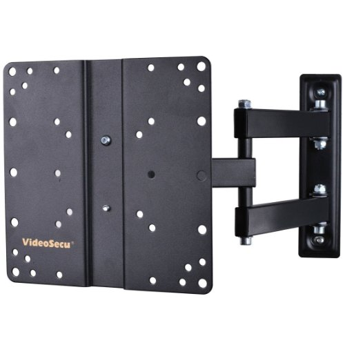 VideoSecu ML510B Articulating Tilt Swivel TV Wall Mount for