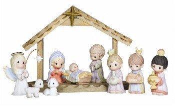 Precious Moments 119030 10 Pc. Mini Nativity