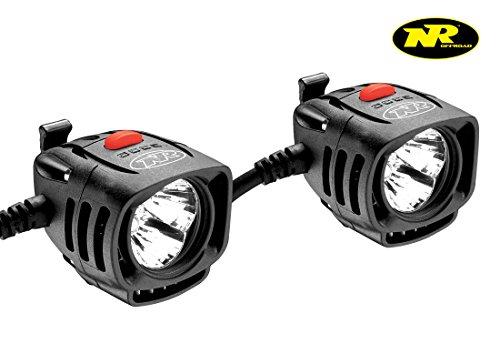Price comparison product image NiteRider,  8666,  Pro ADV 1800 Set,  LED Off Road Driving Headlamps (Set of 2)